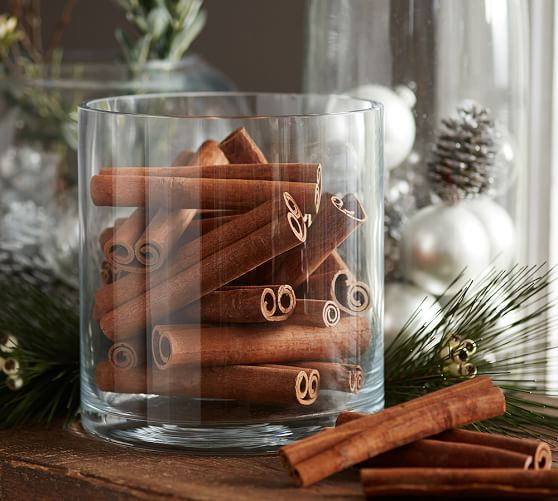 Cinnamon Sticks Vase Filler | Pottery Barn.... For the bathroom