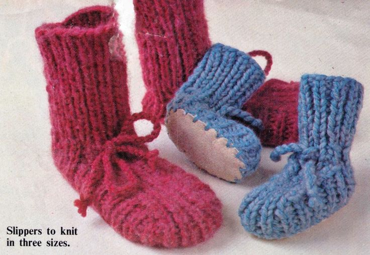 VINTAGE BABIES SHEEPSKIN SLIPPERS BOOTEES WINTER 3 SIZES 12 PLY KNITTING PATTERN