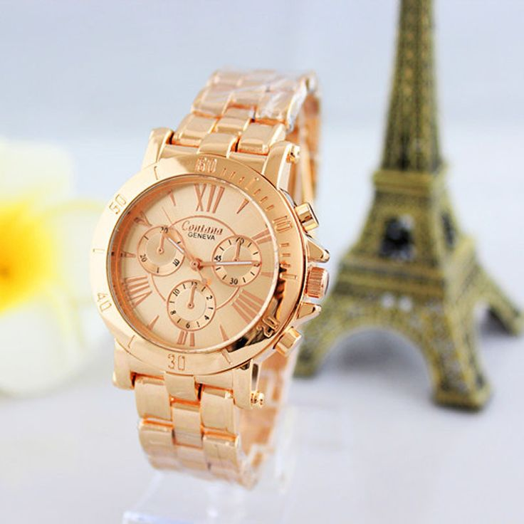 relogios femininos Fashion Pink Gold Watches Women Quartz ladies Watch Clock Wristwatch relojes mujer montre femme de marque