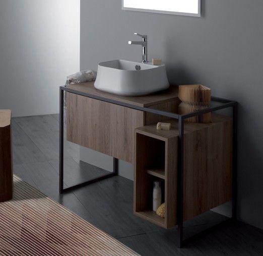 Con una struttura essenziale e moderna, #Frame di @Ceramica Simas è il complemento d'arredo che stavi cercando per dare quel #mood contemporaneo e di #design al tuo bagno! www.gasparinionline.it #arredobagno #interiors #home #arredamento #casa #style #mobile #mobilebagno