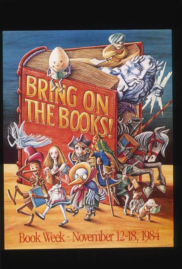 Official Children's Book Week poster, 1984, Gerald McDermott (B. 1941)