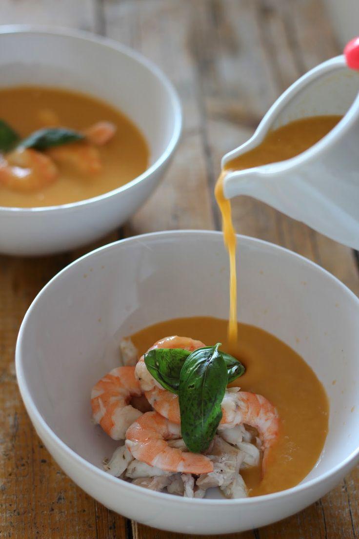 As Minhas Receitas  Sopa de Peixe com Camarão