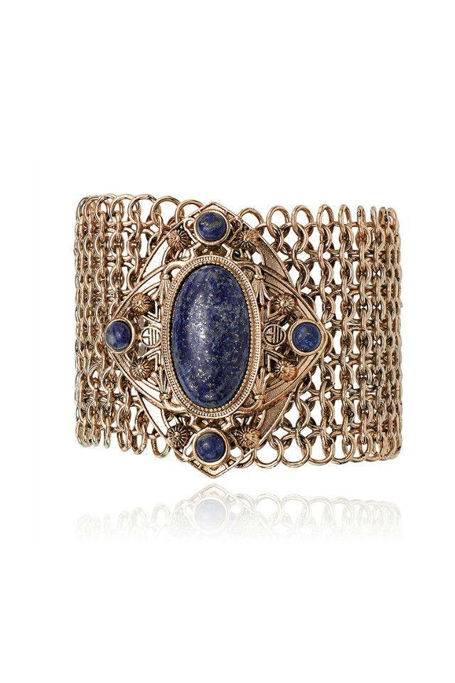 Samantha Wills Midnight Skies Bracelet - Lapis AUD$150.00 available at www.carouselbondi...