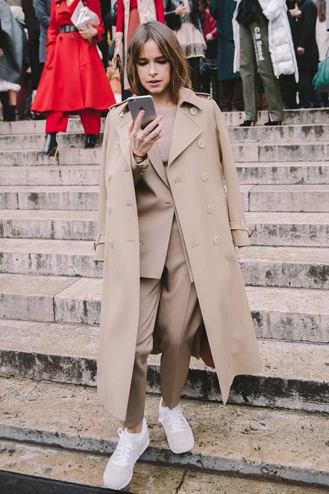 Неделя моды в Париже, осень-зима 2016: street style. Часть 7 (фото 6)