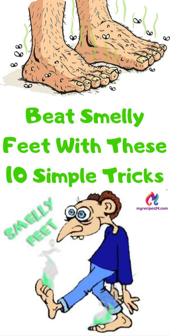 Beat Smelly Feet With These 10 Simple Tricks !