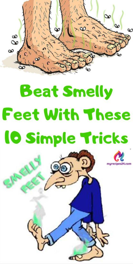 Schlage stinkende Füße mit diesen 10 einfachen Tricks! – HEALTH