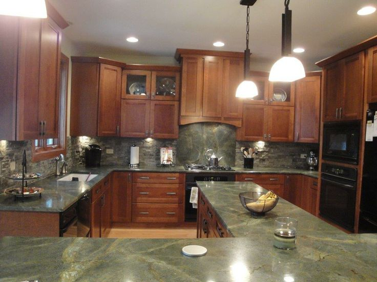 Beautiful Green Granite Countertops! Check out the full ...