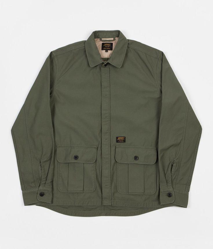 Carhartt Anson Shirt Jacket - Rover Green