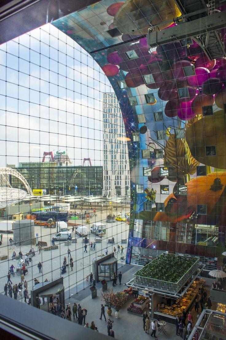 Wow is the Markthal (@markthalrdam) in #Rotterdam beautiful!
