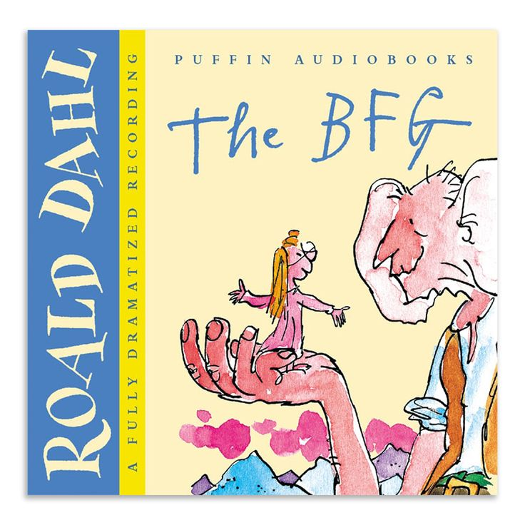 Roald Dahl Audio Books - The BFG, 14.4 x 13.1cm | ACHICA