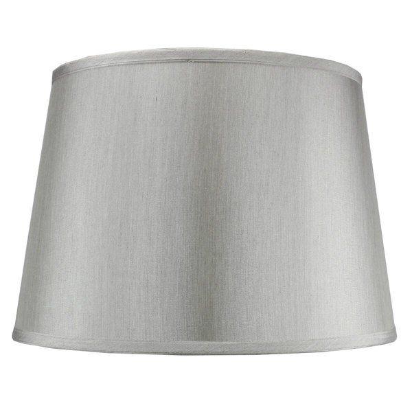 11 H X 16 W Drum Lamp Shade Spider Lamp Shade Drum Lampshade Grey Flooring