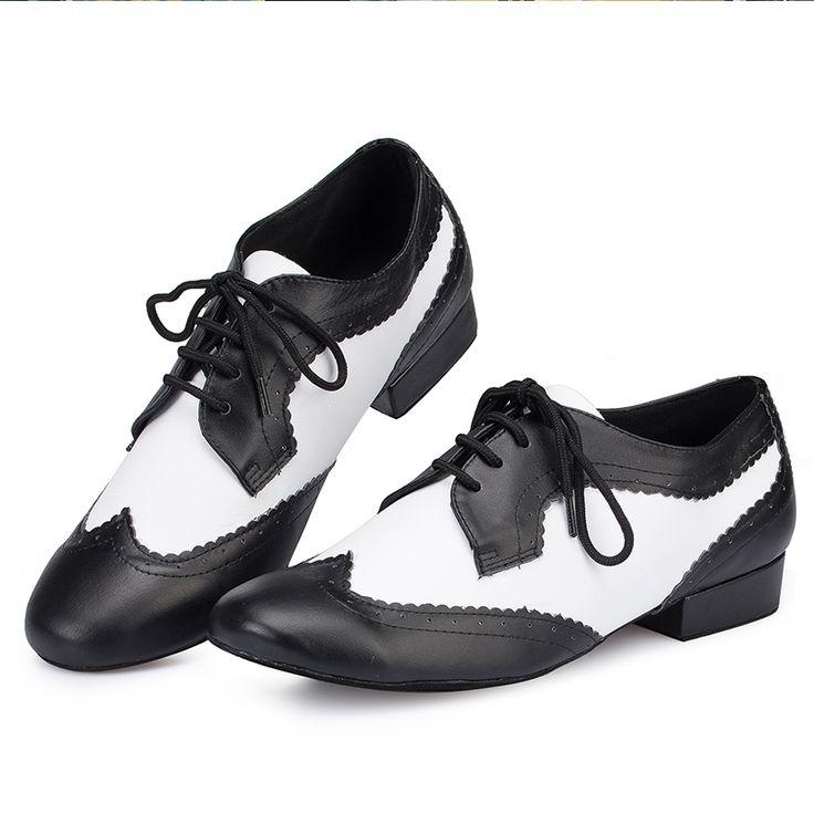 (29.13$)  Buy here  - Men Genuine Leather Dance Shoes Modern Soft Sole Footwear For Dancing Jazz Salsa Cha-Cha Rumba Men Shoe Zapato Baile Latino