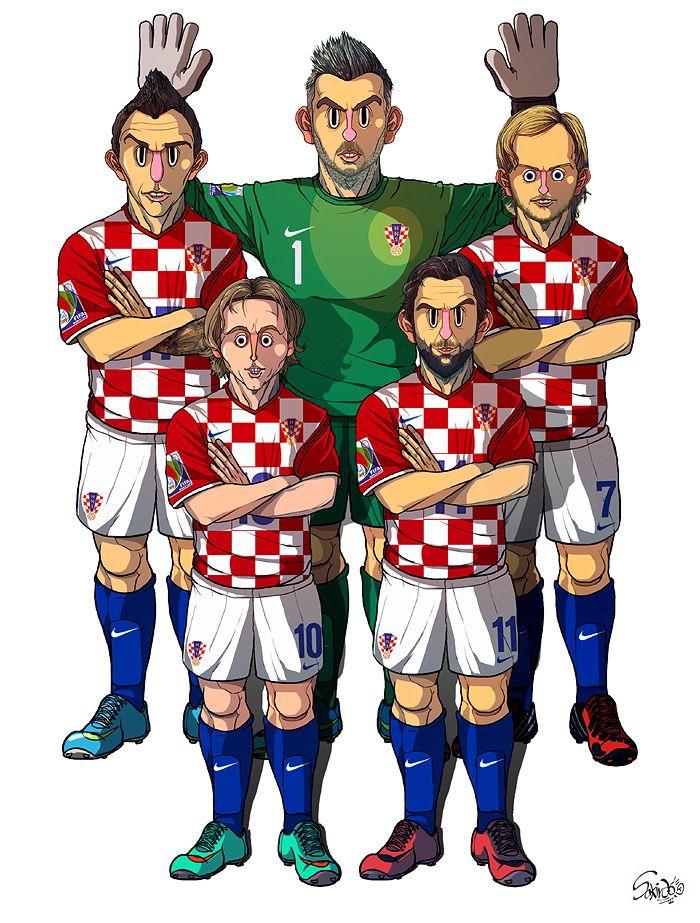 [2014 World cup Edition] A team : Croatia by sakiroo.deviantart.com on @deviantART