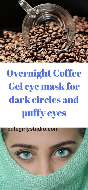 Coffee has a component called tannins that helps to heal eye problems like dark circles and puffiness. The caffine present in coffee effectively maintains the balance of water content around eyes and thus reduces puffy eyes.  #friday #darkcircles #gelmask #cutegirlystudio #instagood #instagram #indiblogger #fashion #bblogger #bblog #beauty #puffyeyes #coffeemask