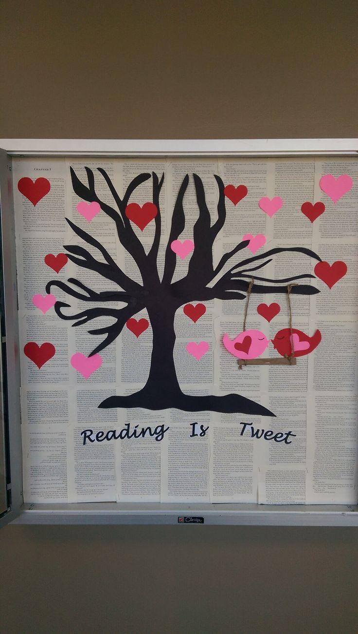 Reading is Tweet Bulletin Board