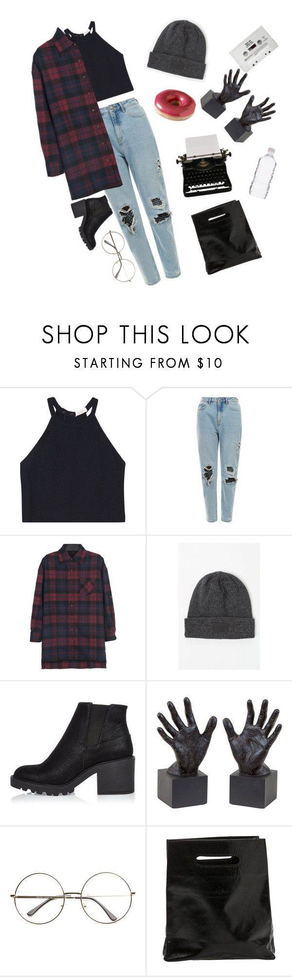 """""""Untitled #314"""" by obrien91 ❤ liked on Polyvore featuring A.L.C., OBEY Clothing, River Island, Dot & Bo, Marie Turnor and polyvorerevolution"""