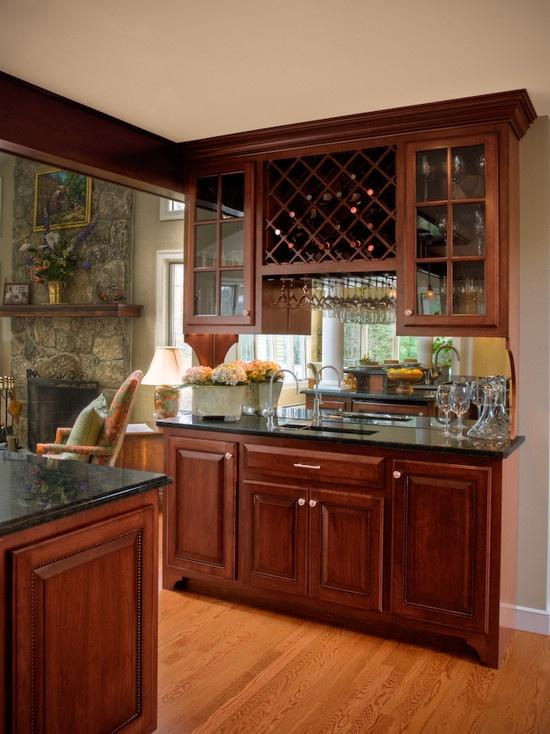 48 best wet bars images on pinterest basement ideas for Wet bar cabinet ideas