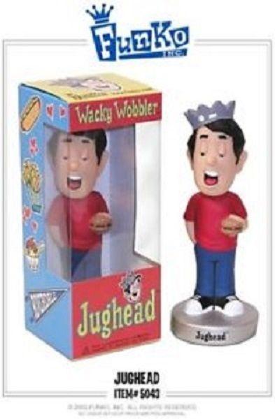 2002 Cartoon Comic JUGHEAD Wacky Wobbler Bobble Head Doll FUNKO ARCHIES MIMB