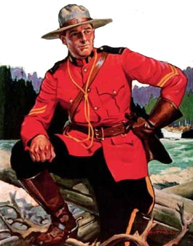 May 23, 1873, Canada establishes the North West Mounted Police.
