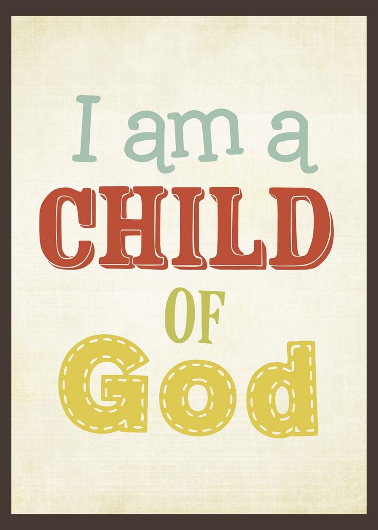 LDS Primary & Youth Printables ... I am a Child of God, 2013 Primary Theme - possible 2012 Christmas Gift to children.