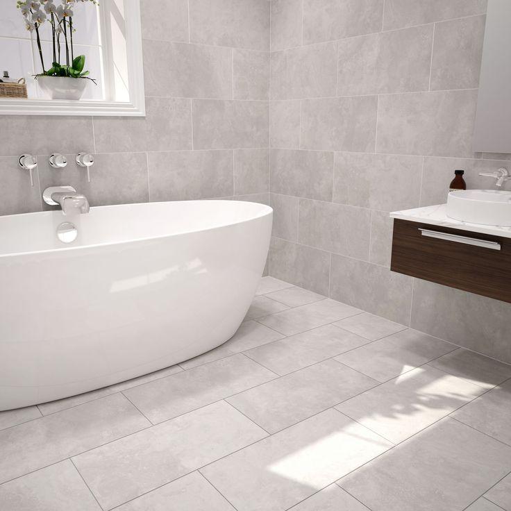 Urban Cement Grey Ceramic Wall & Floor Tile, Pack of 5, (L)600mm (W)300mm | Departments | DIY at B&Q