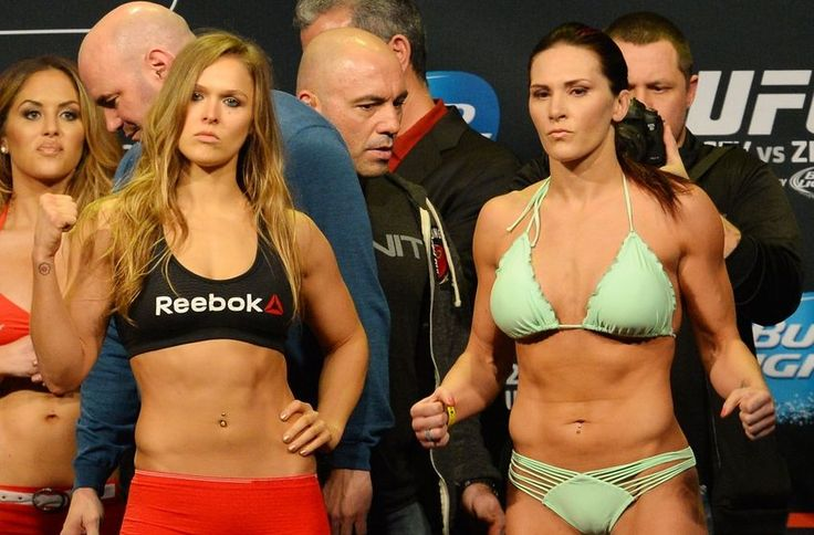Ronda Rousey vs Cat Zingano Fight Finish Gif From UFC 184 Main Event