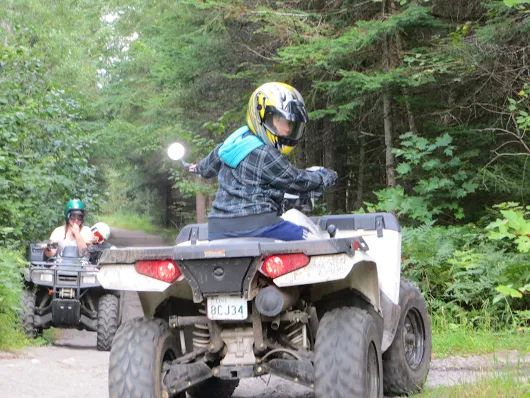 #ATV #Seguin #Trail and #Kearney #ATVing #Adventures 2 hours north of Toronto.  Visit the #AlgonquinWest #ATVClub for more information on the area  http://www.sandlake.on.ca  Visit Sand Lake Cottages for accommodations offering 8 rental cottages with kitchens.