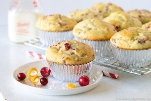 Cranberry+Orange+Muffins+with+Truvia®+Baking+Blend