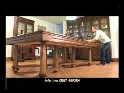 ETRUSCO BILIARDI - Tavoli trasformabili in Biliardo