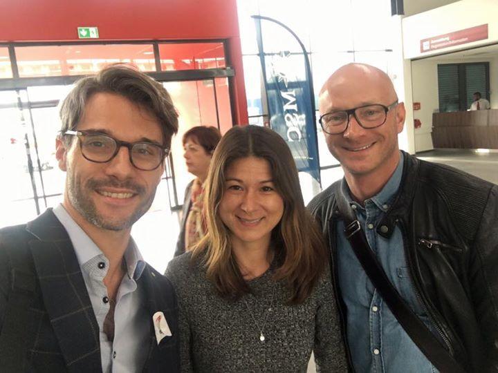 Schöner Tag  in Hamburg auf die MSC Spendida mit Doris und Jürgen von Bauer Verlag. Unser Produkt aroma garden war in den goodies-bags für die Redaktion
