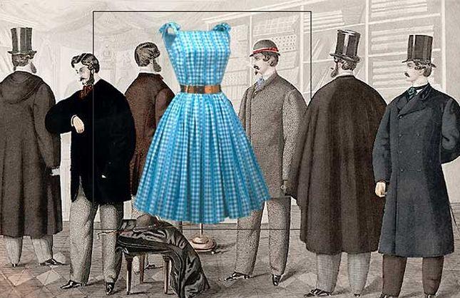 Modens historie - Tidens tøj