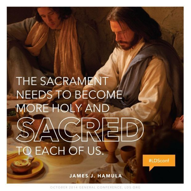"""""""He who accomplished the Atonement has given us the ordinance of the sacrament to help us not only remember but also claim [all] the blessings of [His] supreme act of grace."""" http://youtu.be/N8PiJVpcQIY From #ElderHamula's inspiring #LDSconf http://facebook.com/223271487682878 message http://lds.org/general-conference/2014/10/the-sacrament-and-the-atonement Learn more http://lds.org/topics/sacrament #JesusChrist #Atonement #Sacrament #Redemption #Grace #Sanctification #ShareGoodness"""
