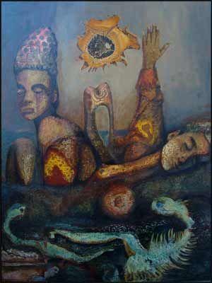 Patrice Dechavanne est un artiste peinture abstrait et surréaliste du sud de la France.