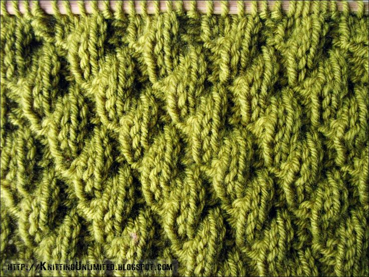 Knit-Purl Combinations: Diagonal Pattern 2 |  | | knittingunlimited.blogspot.com