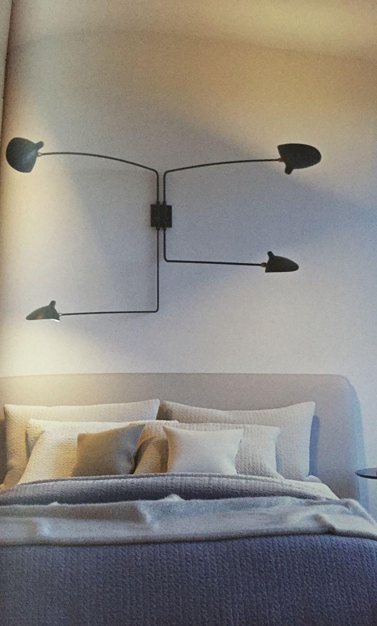 Vägglampa sovrum