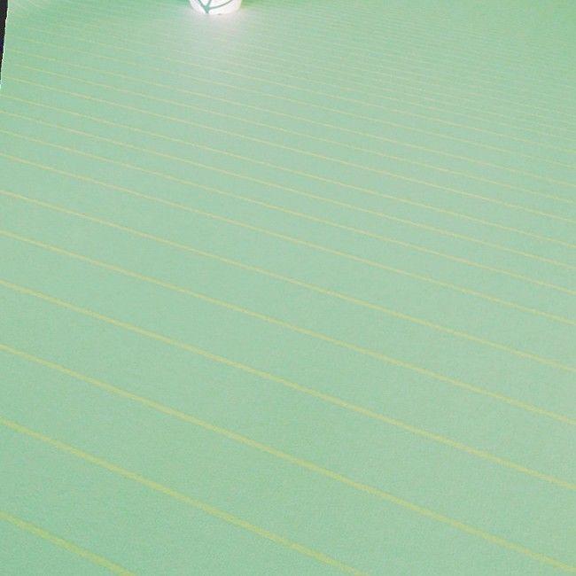 Momentum Ice Blue, Mette Ditmer akryldug med antiskrid, 140 cm bred