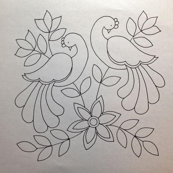 f1341757b0431a2bac2a7601705474b0--bird-patterns-applique.jpg (564×564)