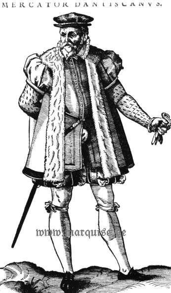 Hans Weigel's Book of Costume 1577: Mercator Dantiscanus