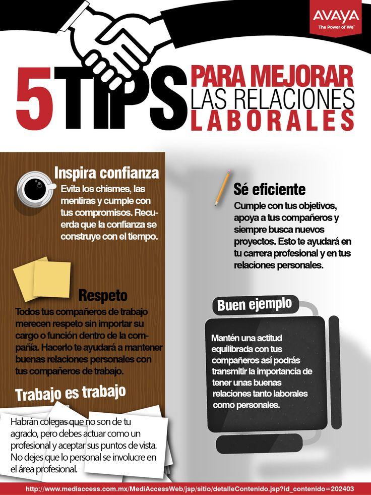 5 tips para mejorar las relaciones laborales