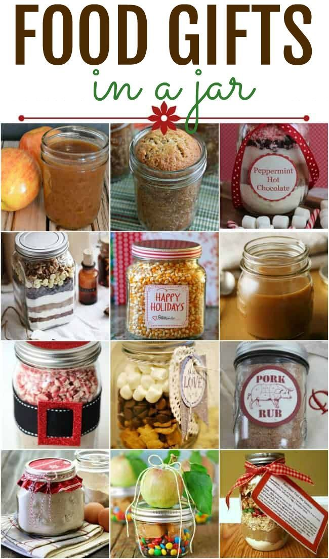 Food Gifts In A Jar Homemade Food Gifts Jar Food Gifts Diy Food Gifts