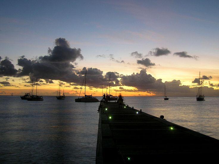 Martinique  View from L' église Saint-Henri  des Anses-d' Arlet