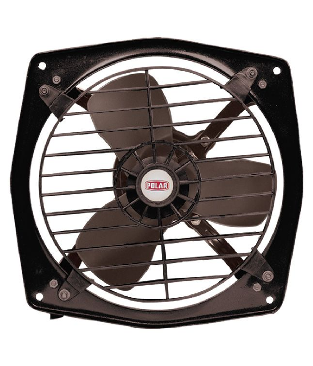 POLAR CLEAN AIR HI-SPEED FANS come with 3 leaf blades with stronger air suction power. The vibration free normal 2250 RPM in 230 mm sweep comes with safety guard to provide adittional safety.   #Buy_Exhaust_Fans_in_India    #buy_exhaust_fan