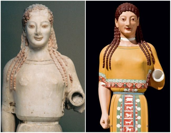 Antiche statue greche colorate13