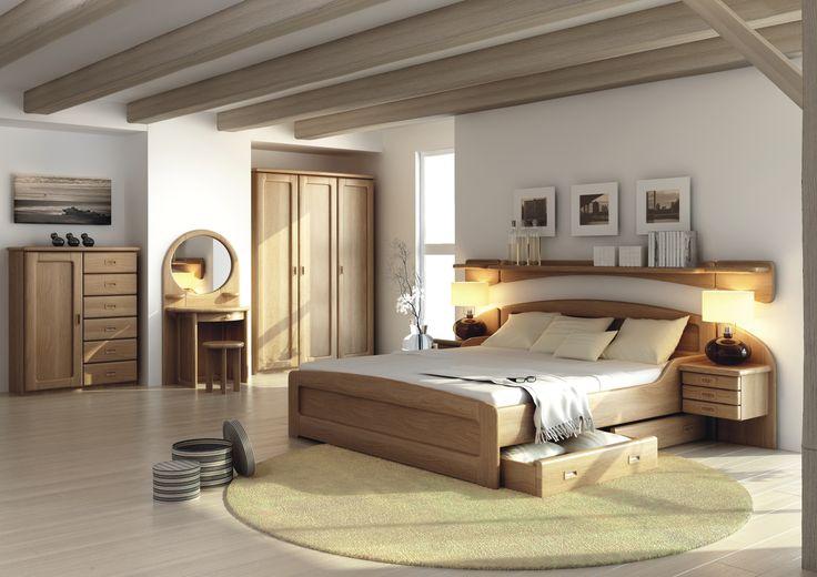 Ložnice z masivu • JELÍNEK - výroba nábytku s.r.o.