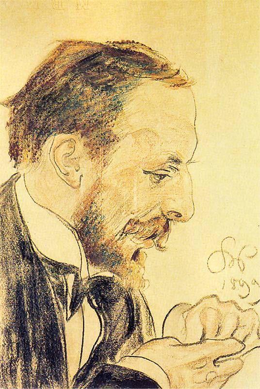 Stanisław Wyspiański, Konrad Rakowski - portrait, 1899