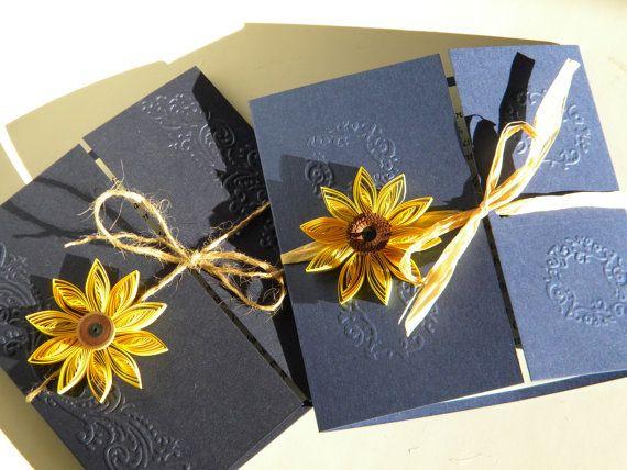 best ideas about sunflower wedding invitations on, invitation samples