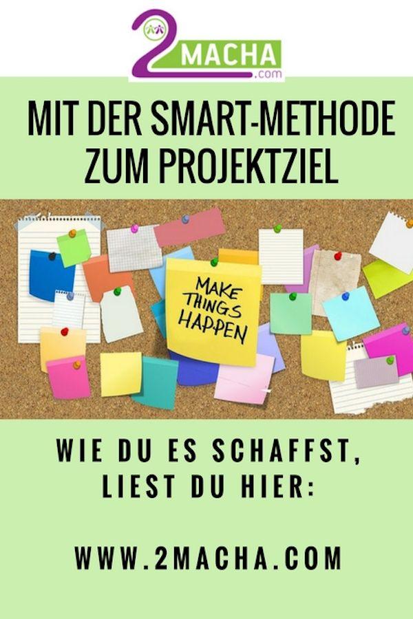 Projektziel Mit Der Smart Methode Entwickeln Smart Methode Smart Ziele Und Weiterbildung
