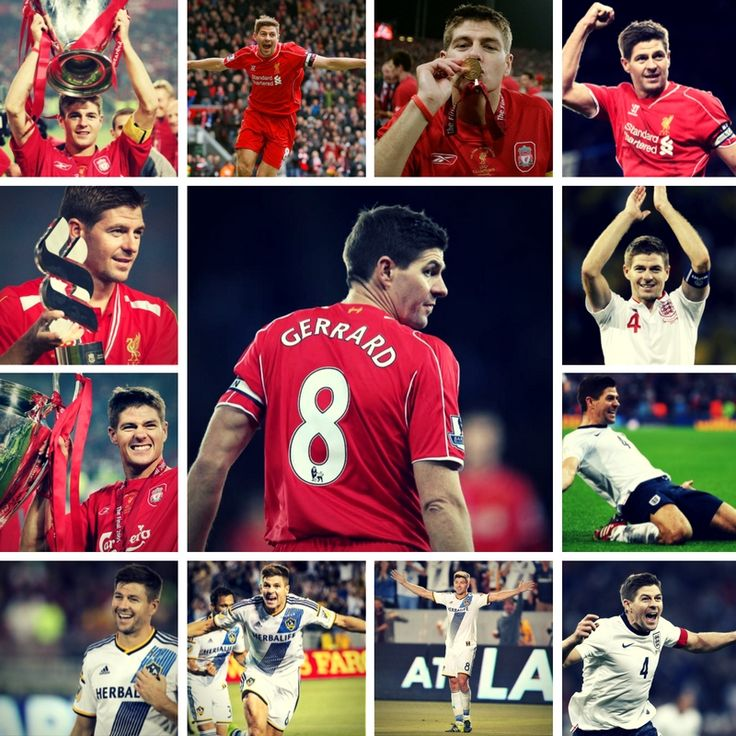 Steven Gerrard retires from football today. 710 appearances for Liverpool FC, 8 major trophies, 114 appearances for England ⚽⚽⚽⚽⚽⚽⚽⚽⚽ #stevengerrard #gerrard #liverpool #lfc #england #lagalaxy #football #soccer