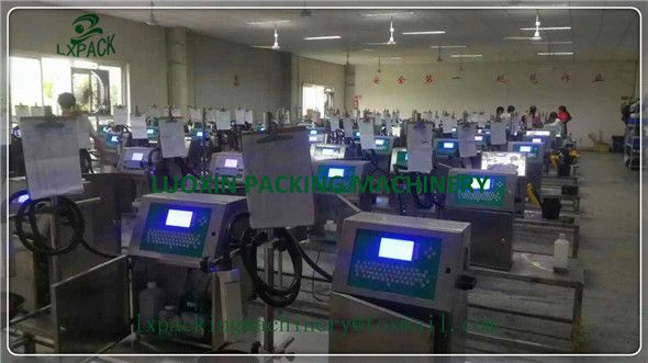 LX-PACK Lowest Factory Price Industrial Inkjet Printers Coding Marking Ink-Jet Systems signing Printer non-contact printing