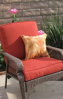 Clean Your Patio Chair Cushions In Time For Fourth Of July